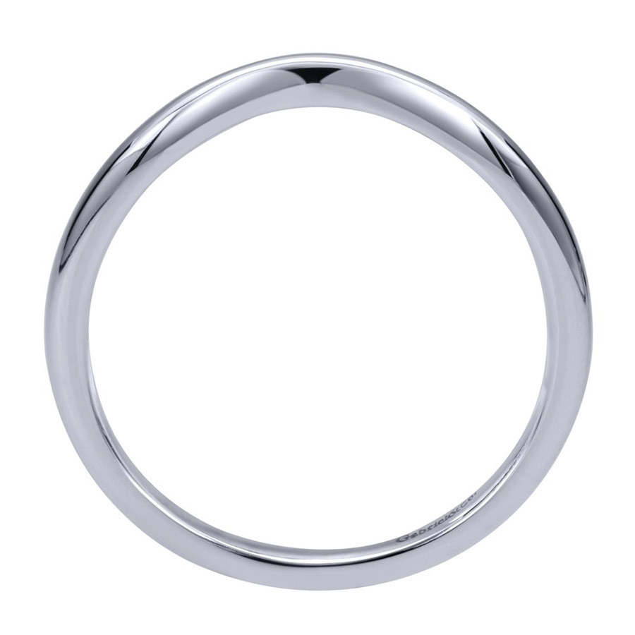 Gabriel 14 Karat Contemporary Wedding Band WB911928R0W4JJJ Alternative View 1