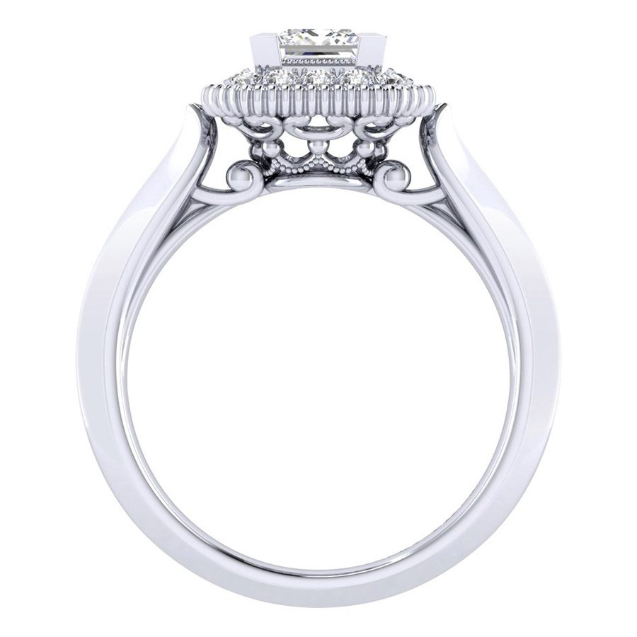 Gabriel 14 Karat Perfect Match Engagement Ring ER001B3ALW44JJ Alternative View 1