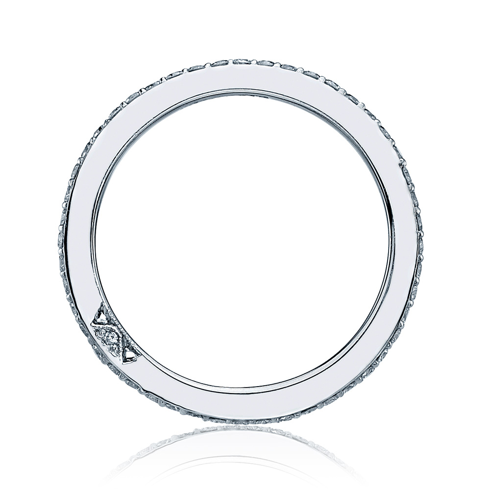 2630BMD Platinum Tacori Dantela Diamond Wedding Ring Alternative View 1