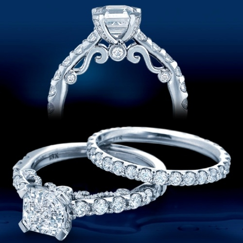 Verragio Platinum Insignia Engagement Ring INS-7001 Alternative View 1