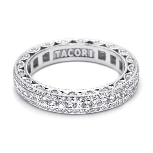 Tacori HT2513PRB Platinum Wedding Band Alternative View 2