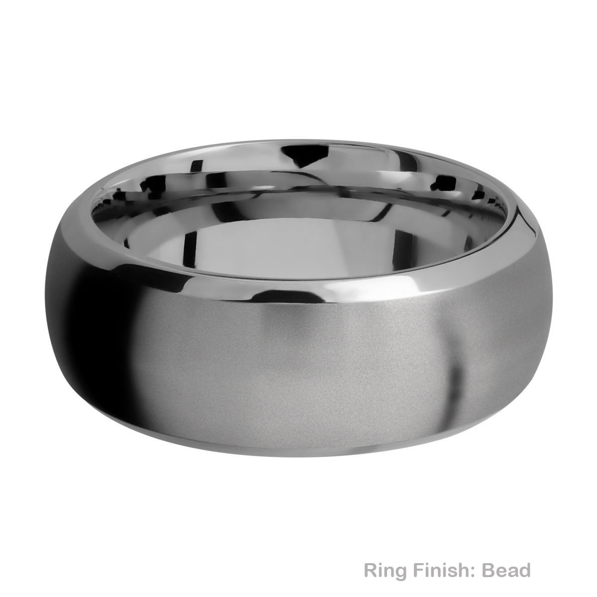Lashbrook 9DB Titanium Wedding Ring or Band Alternative View 2