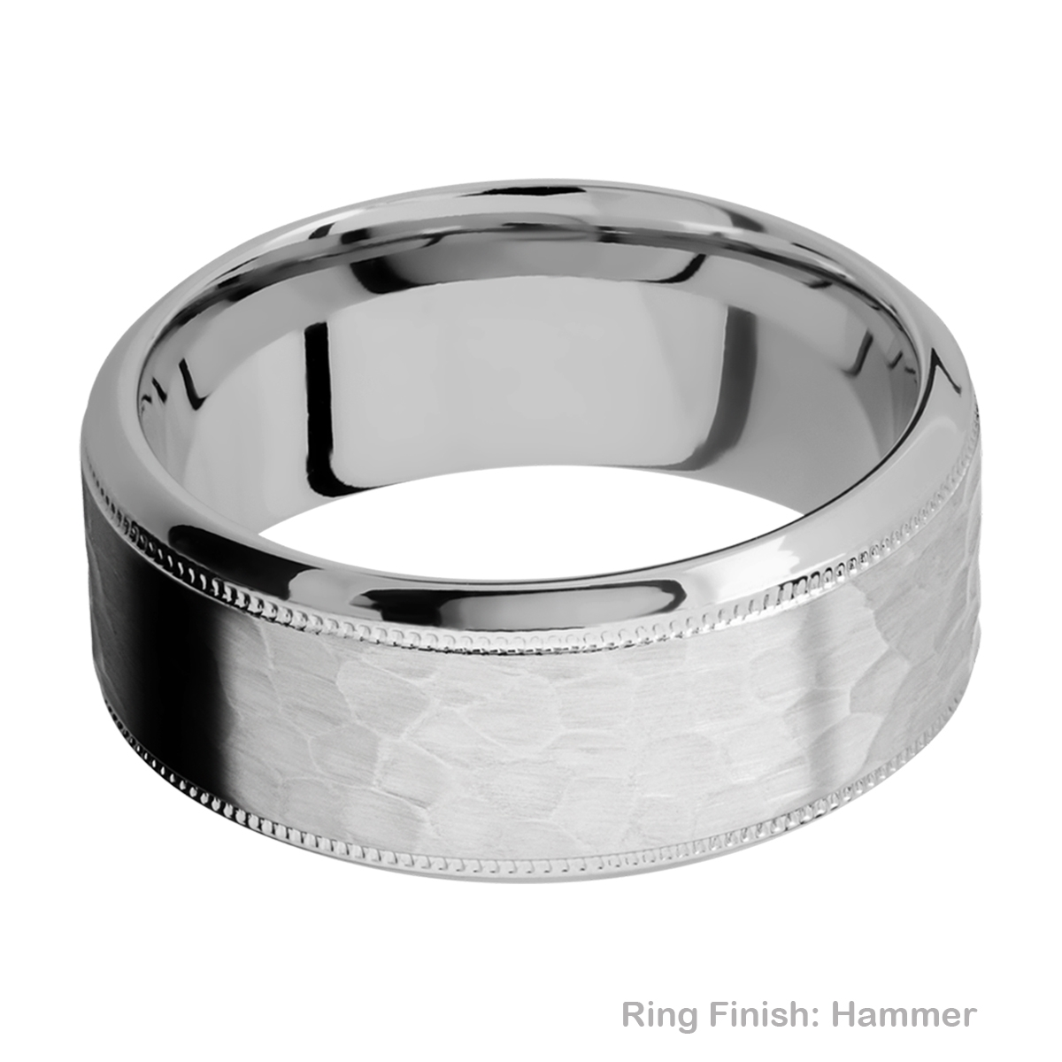 Lashbrook 9HB2UMIL Titanium Wedding Ring or Band Alternative View 10