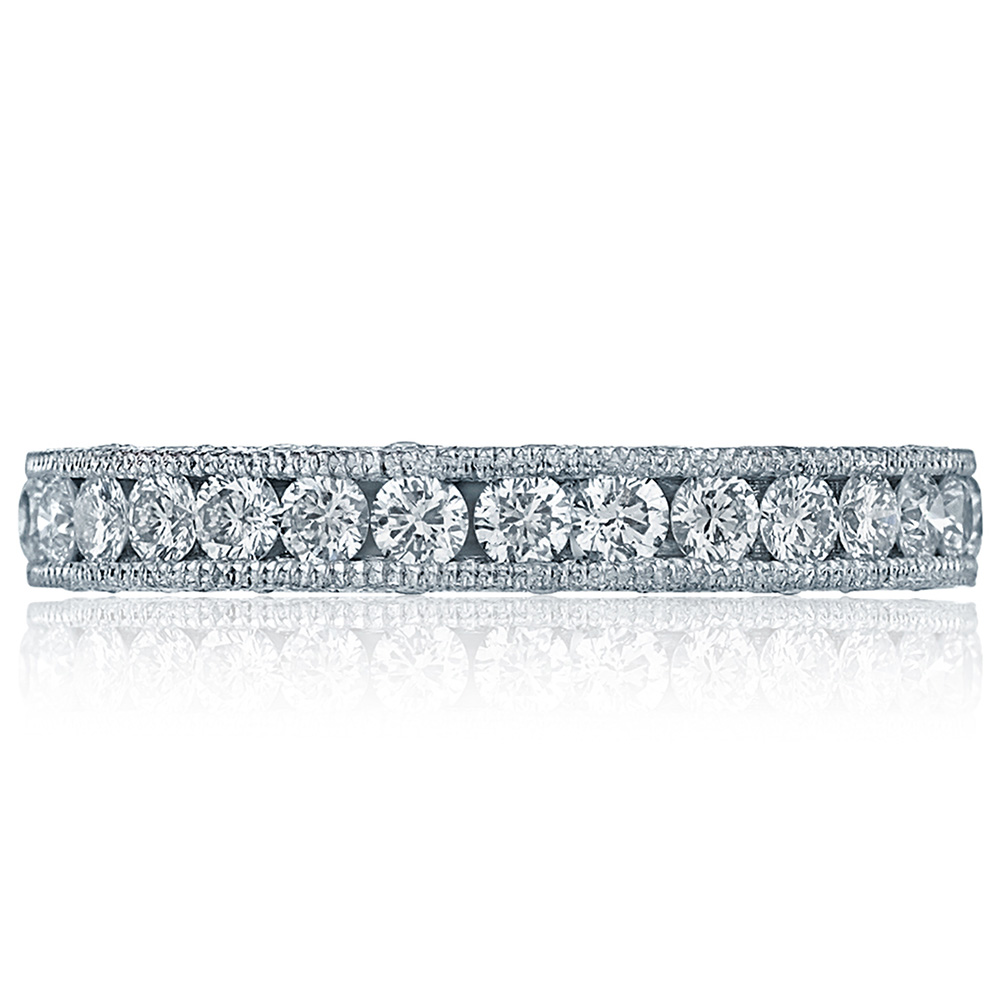 HT2607B Platinum Tacori RoyalT Diamond Wedding Ring
