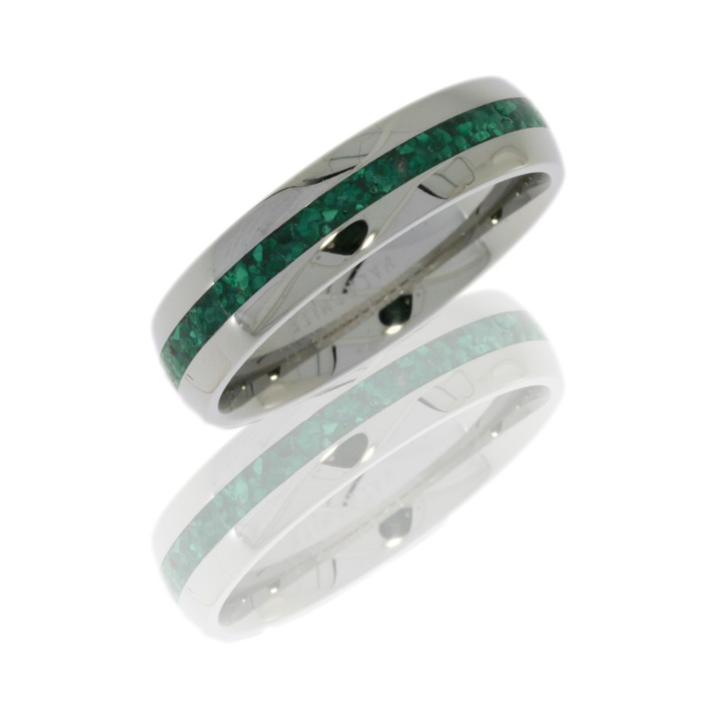 Lashbrook 6D12/MALA POLISH Titanium Wedding Ring or Band