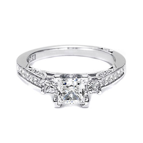 Tacori 2636PR6 Platinum Simply Tacori Engagement Ring Alternative View 2