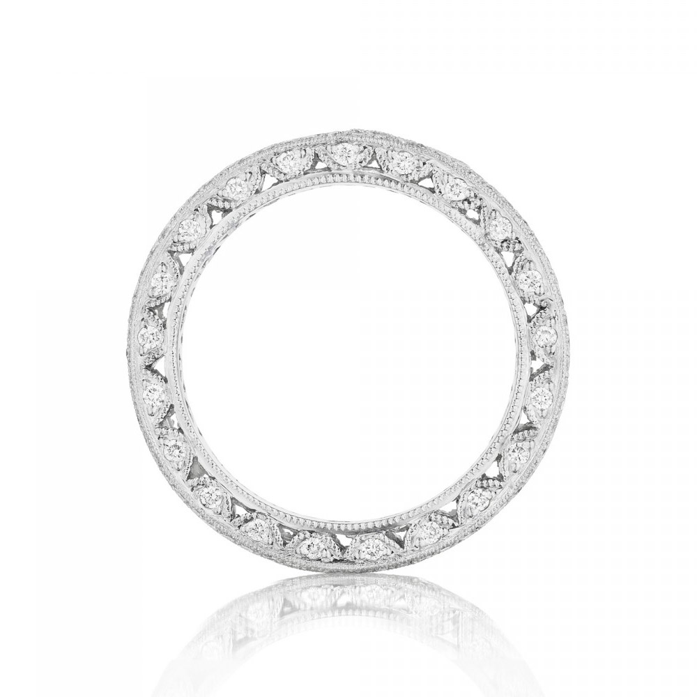 5007BG Platinum Tacori Vault Diamond Wedding Ring Alternative View 1