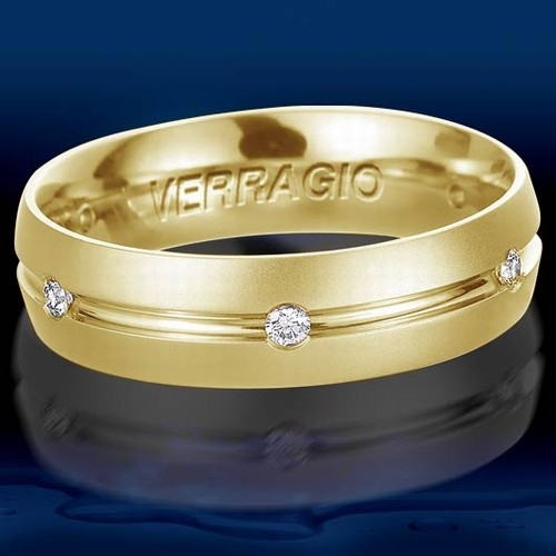 Verragio 18 Karat Diamond Wedding Band VWD-6903 Alternative View 1