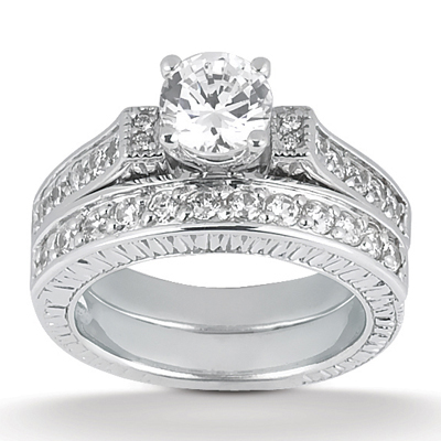 Taryn Collection 14 Karat Diamond Engagement Ring TQD A-653