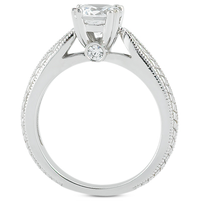 Taryn Collection Platinum Diamond Engagement Ring TQD 7198 Alternative View 1