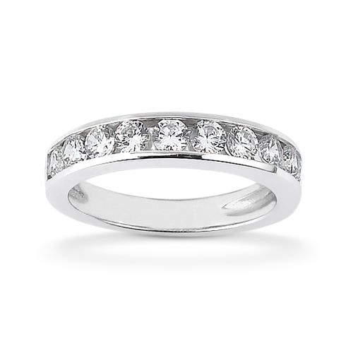 Diamond Channel Set Band 14 Karat Taryn Collection TQD B-0425