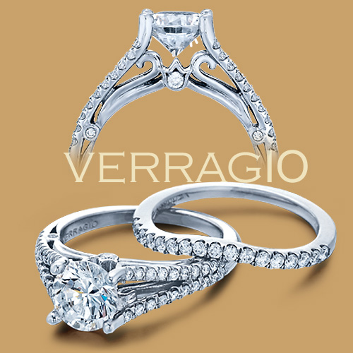 Verragio 18 Karat Couture Engagement Ring Couture-0383 Alternative View 1