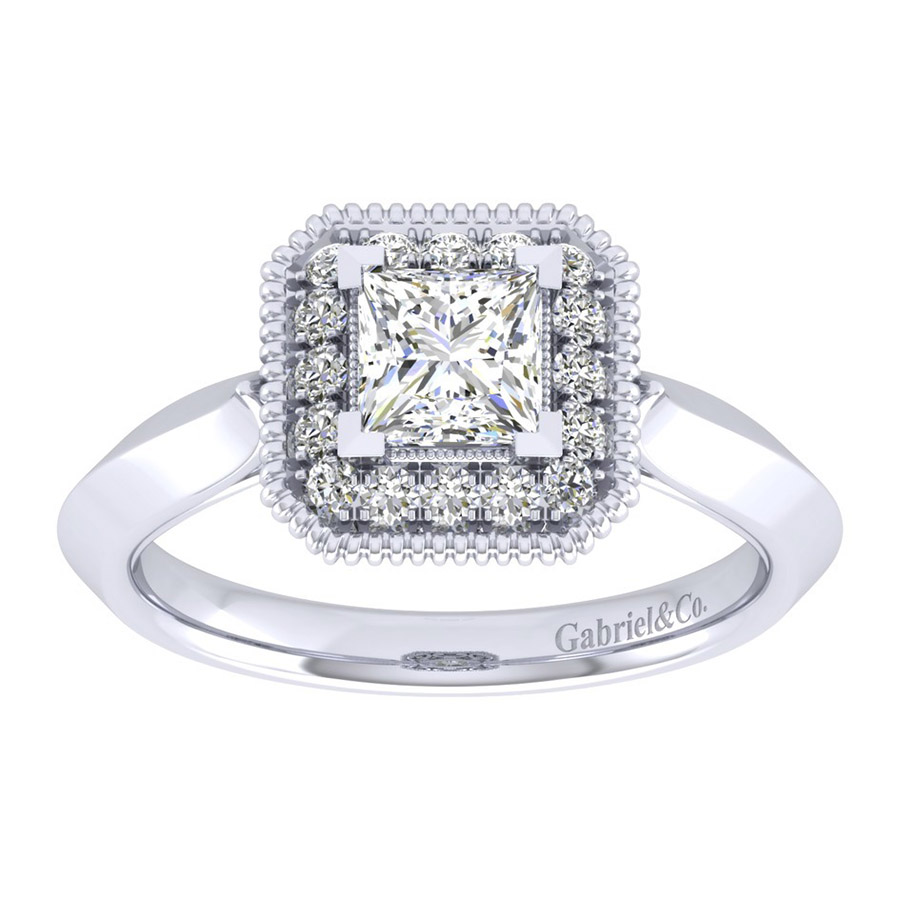 Gabriel 14 Karat Perfect Match Engagement Ring ER001B3ALW44JJ Alternative View 4