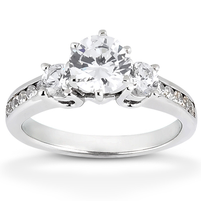 Taryn Collection 14 Karat Diamond Engagement Ring TQD 2336