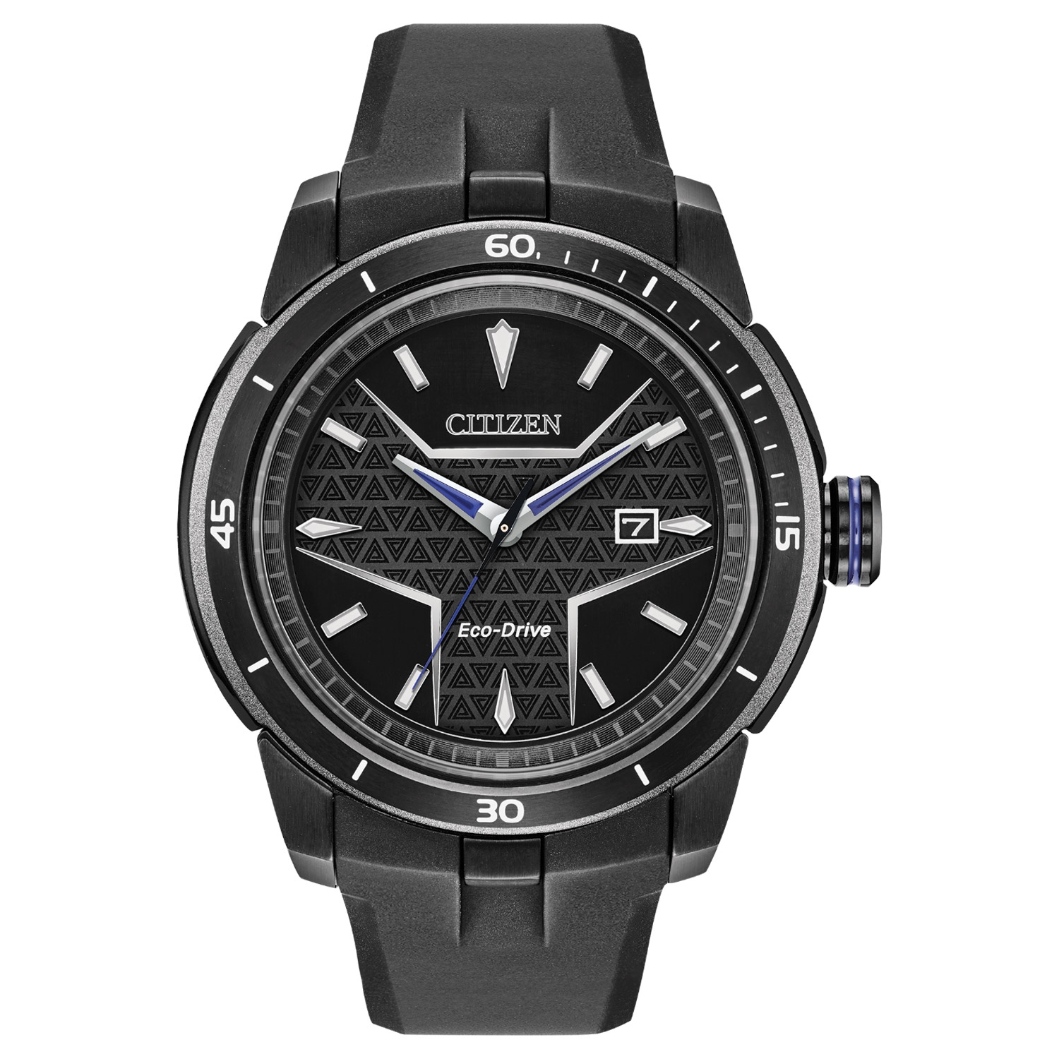 AW1615-05W Citizen Marvel Black Panther Eco-Drive Mens Watch