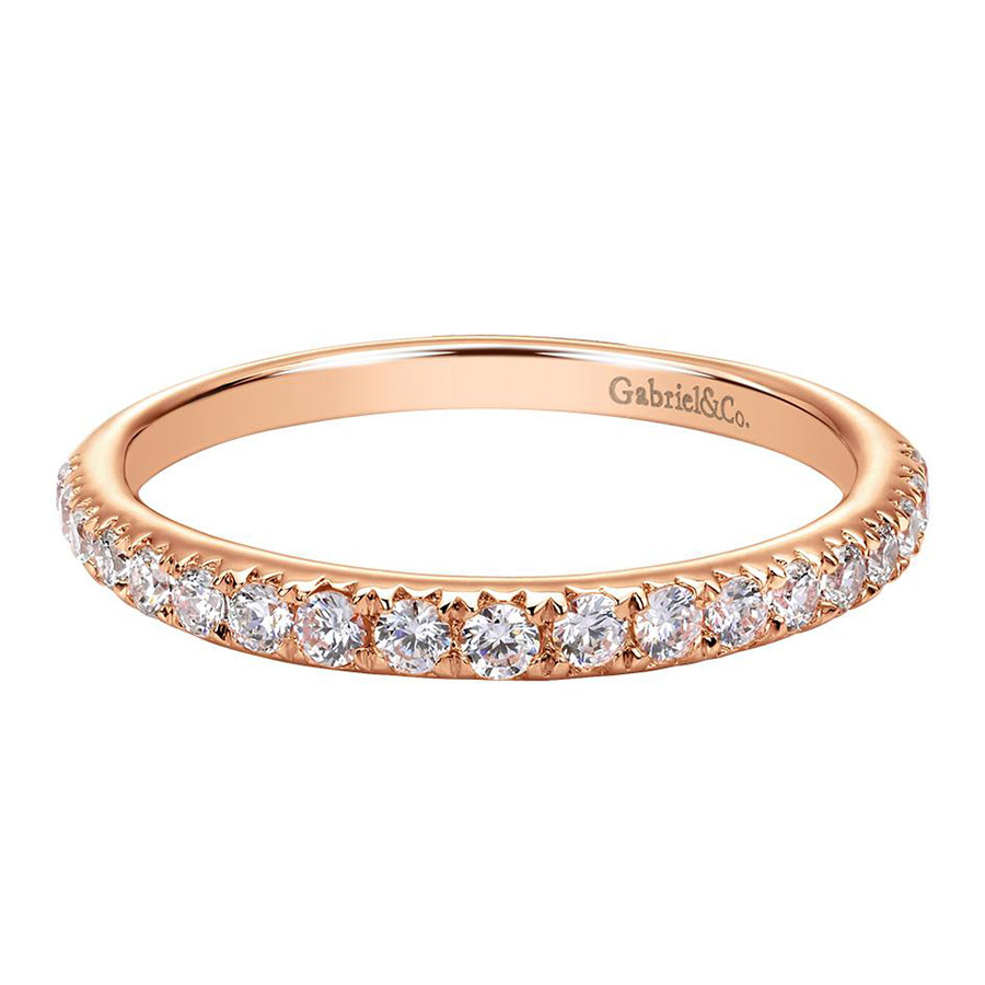 Gabriel 14 Karat Contemporary Wedding Band WB8259K44JJ