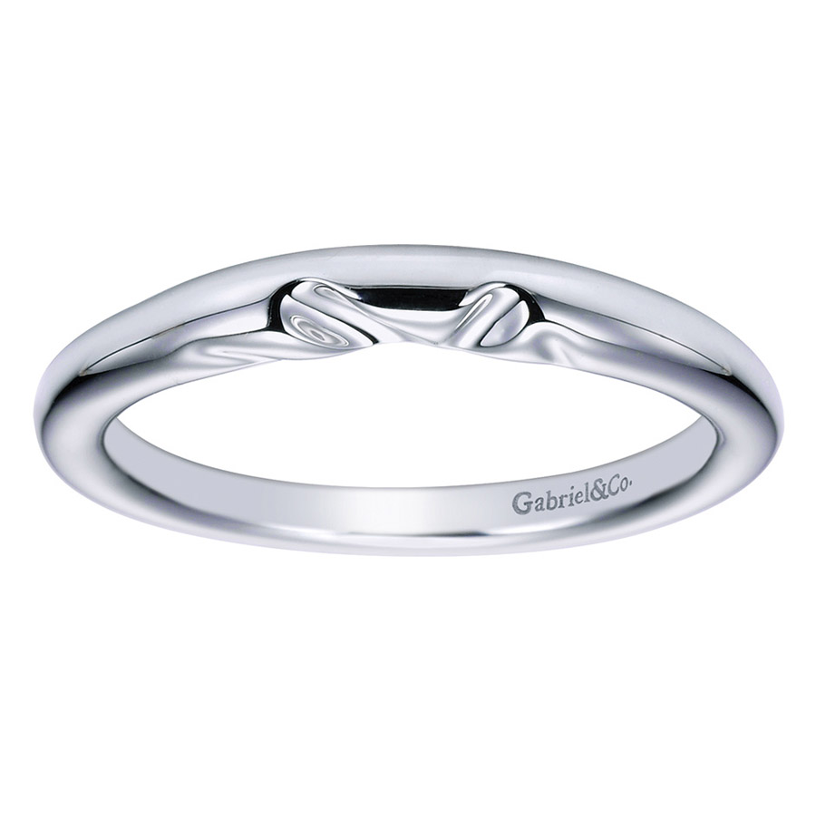 Gabriel Platinum Contemporary Wedding Band WB5916PTJJJ Alternative View 4
