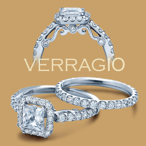 Verragio Platinum Insignia Engagement Ring INS-7005 Alternative View 1