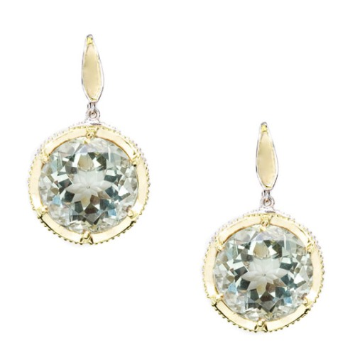 SE104Y12 Tacori Color Medley Crescent Drop Earrings