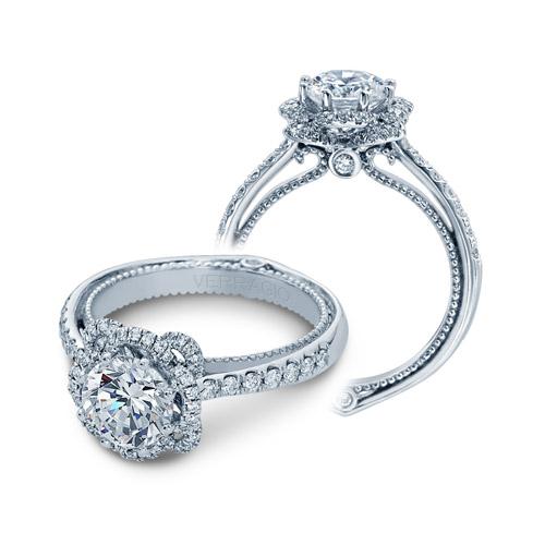 Verragio Couture-0428R Platinum Engagement Ring