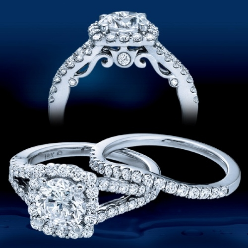 Verragio 18 Karat Insignia Engagement Ring INS-7046 Alternative View 4