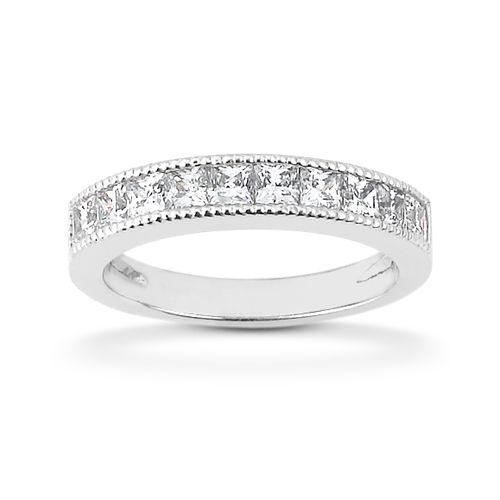 Diamond Channel Set Band 14 Karat Taryn Collection TQD B-5525