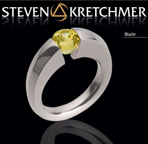 Kretchmer Platinum Blade Tension Set Ring Alternative View 1