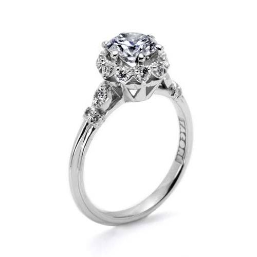Tacori Platinum Simply Tacori Engagement Ring HT2299 Alternative View 3