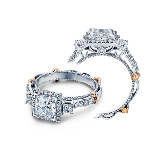 Verragio Parisian-122P Platinum Engagement Ring
