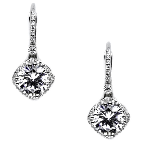 Tacori Diamond Earrings Platinum Fine Jewelry FE64275