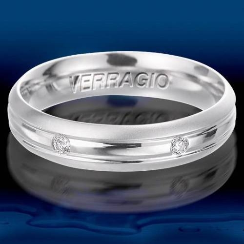 Verragio Palladium Diamond Wedding Band VWD-5915 Alternative View 1