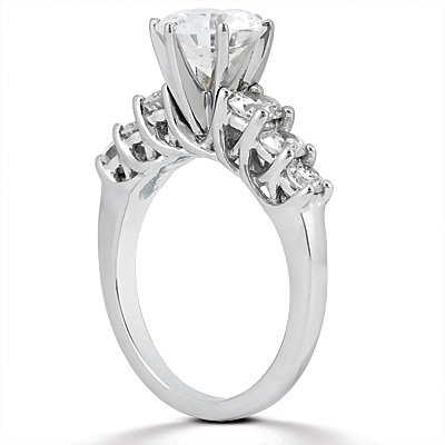 Taryn Collection 14 Karat Diamond Engagement Ring TQD A-748 Alternative View 1