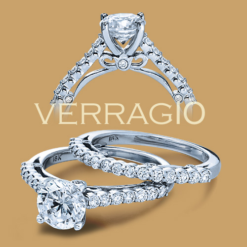 Verragio 18 Karat Couture Engagement Ring Couture-0385 M Alternative View 1
