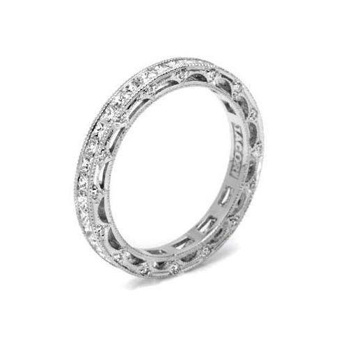 Tacori 18 Karat Crescent Silhouette Wedding Band HT2510PRB Alternative View 3