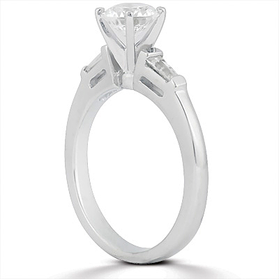 Taryn Collection 18 Karat Diamond Engagement Ring TQD A-001 Alternative View 2