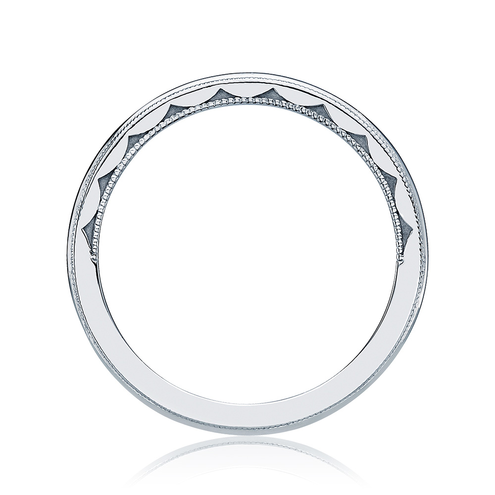 Tacori 40-15 18 Karat Sculpted Crescent Wedding Band Alternative View 1