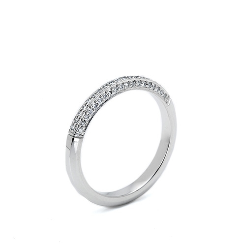 Tacori 18 Karat Simply Tacori Wedding Band 2522 Alternative View 1