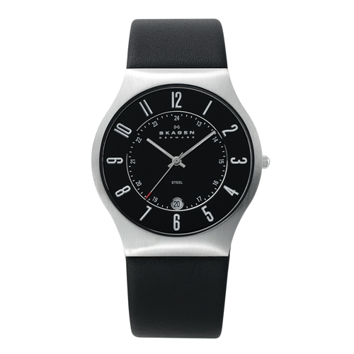 Skagen Watch - 233XXLSLB - Grenen Leather