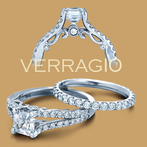 Verragio Platinum Insignia Engagement Ring INS-7008 Alternative View 1