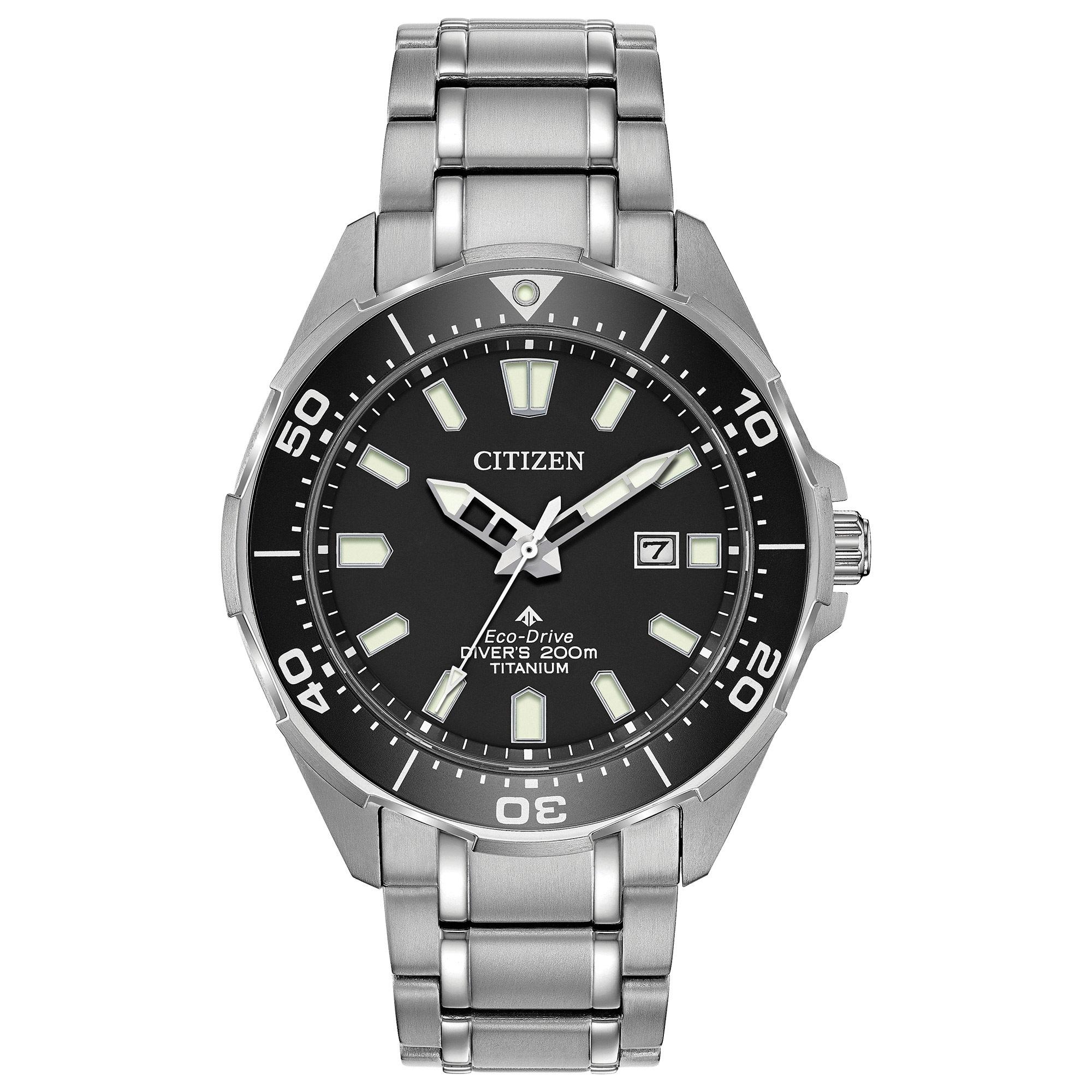 Bn0200 56e citizen promaster diver eco drive mens watch tq diamonds - Citizen promaster dive watch ...