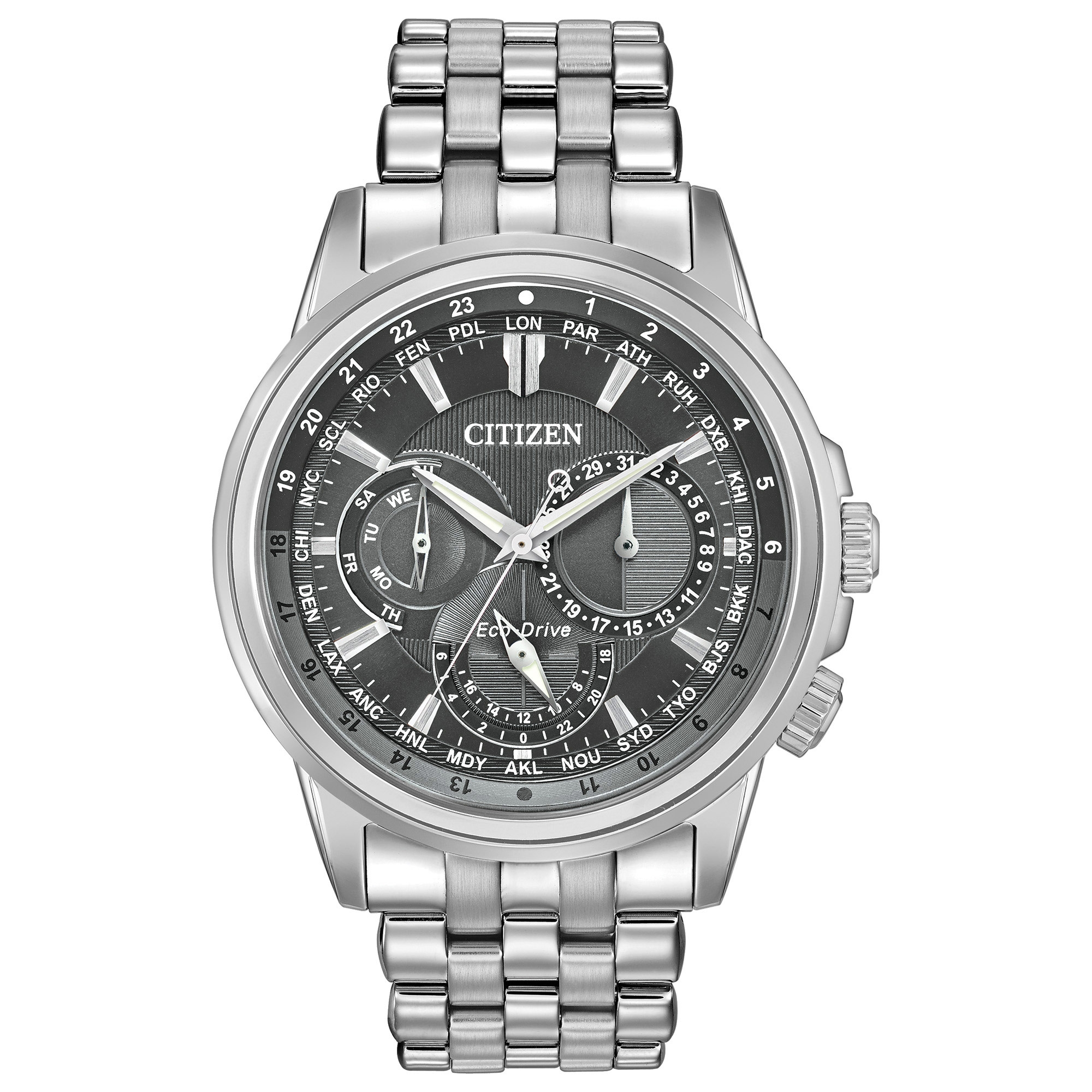 BU2021-51H Citizen Calendrier Eco-Drive Mens Watch