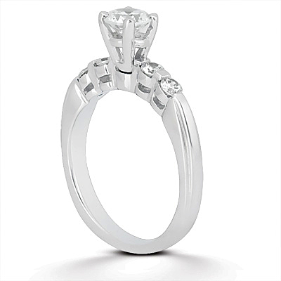 Taryn Collection 14 Karat Diamond Engagement Ring TQD A-365 Alternative View 1