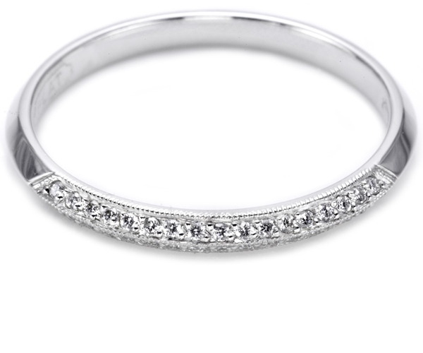 Tacori 2520 Platinum Wedding Band