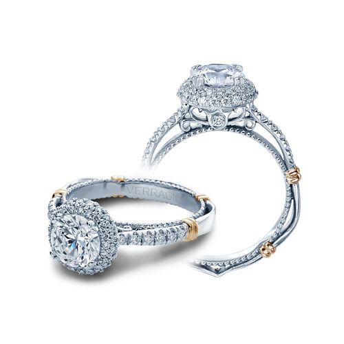 Verragio Parisian-133RD 14 Karat Engagement Ring