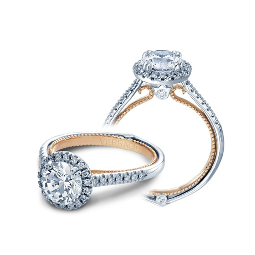 Verragio Couture-0420R-TT 14 Karat Engagement Ring Alternative View 3