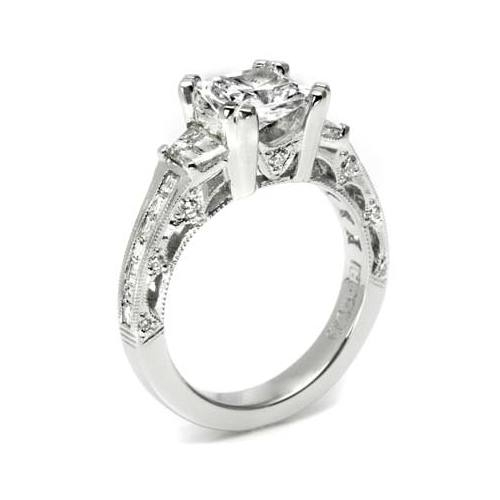 Tacori Crescent 18 Karat Engagement Ring HT2509PR12X Alternative View 3