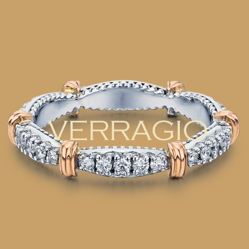 Verragio Parisian-W102 18 Karat Diamond Eternity Ring / Band Alternative View 1
