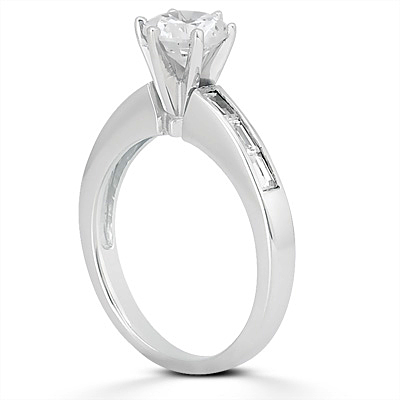 Taryn Collection 18 Karat Diamond Engagement Ring TQD A-512 Alternative View 1