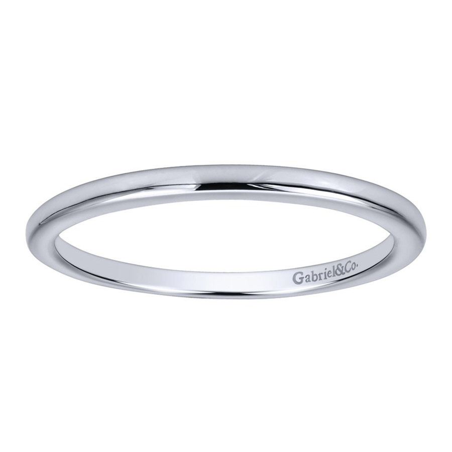 Gabriel 14 Karat Contemporary Wedding Band WB911778R0W4JJJ Alternative View 4