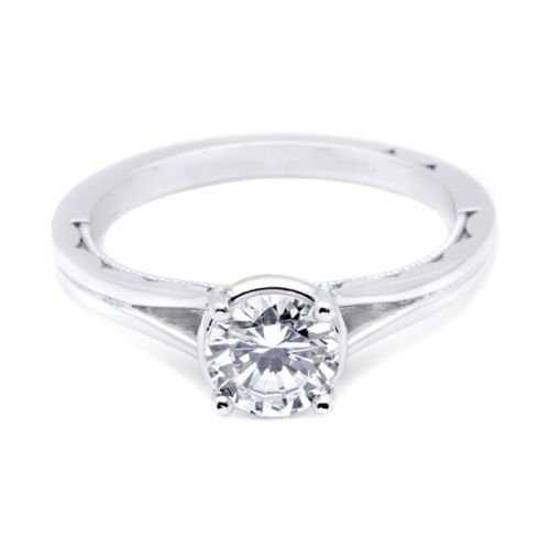 Simply Tacori Platinum Diamond Solitaire Engagement Ring 53RD6